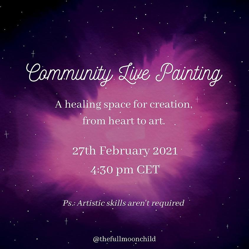 Community Live Painting   Adrienn Juhasz