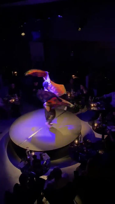 Zoe Jakes with Butterfly Wings - Performance