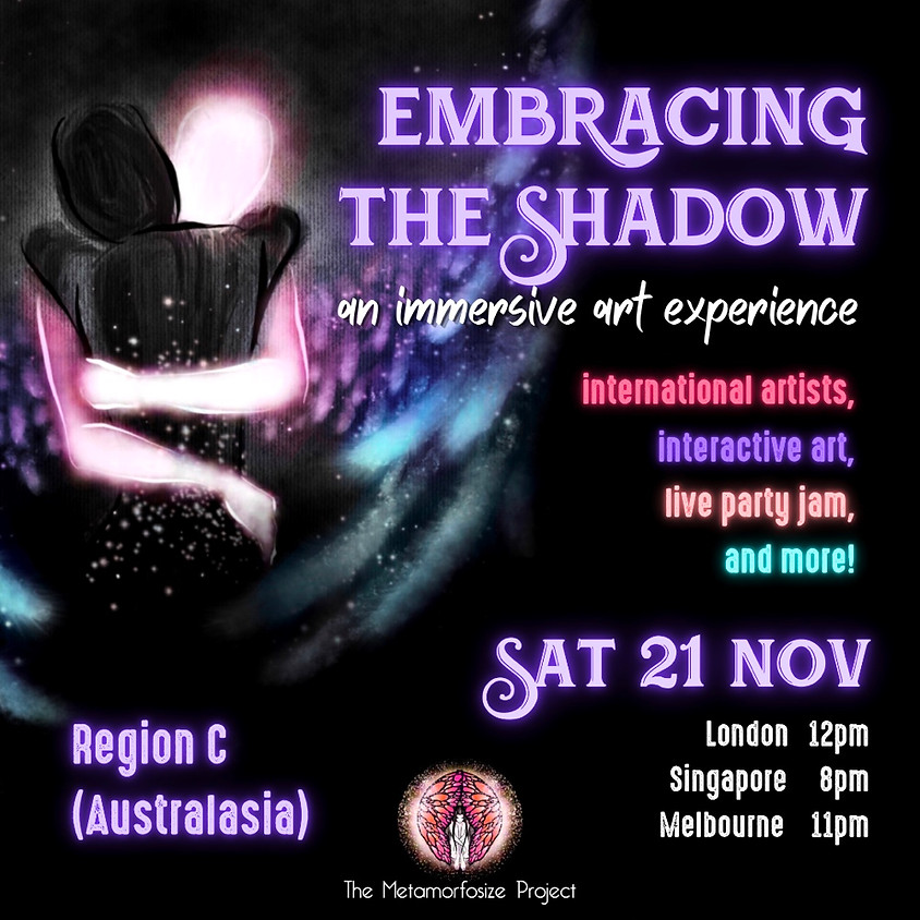 Embracing the Shadow: An Immersive Art Experience - Region C (Australasia)