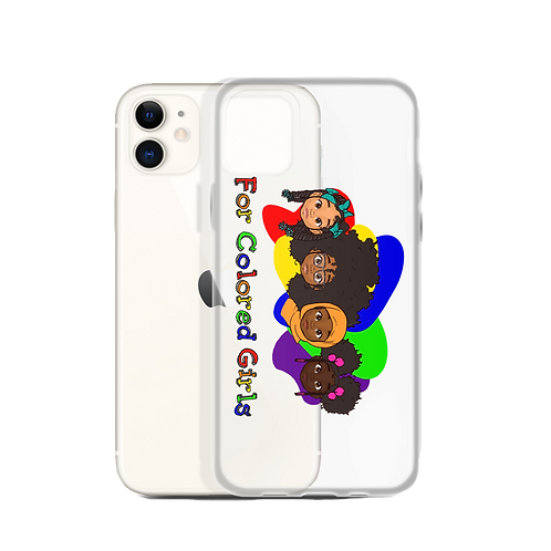 For Colored Girls iPhone Case