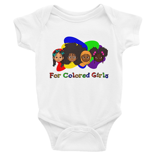 For Colored Girls Infant Bodysuit