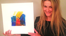 Yvette in South Africa got her painting: