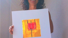 Lisa from Basel/Switzerland got her painting, and wrote: