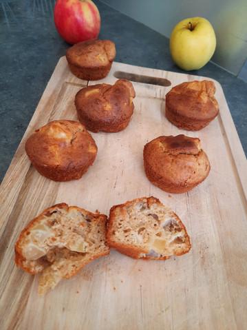 Muffins aux pommes allégés 🤩💪