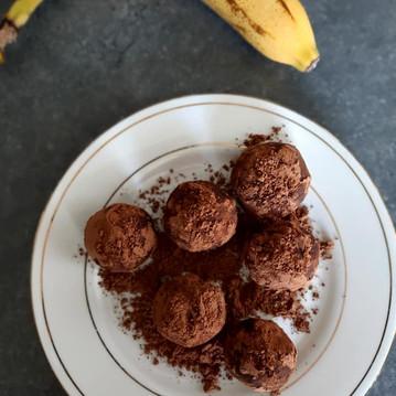 Boules d'énergie à la purée de noisettes et cacao 💪🏃♀️