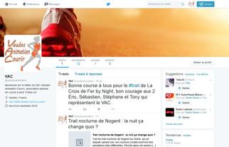 Création du compte Twitter du club !
