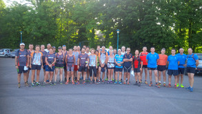 Photo group sortie trail interclub aux Ricey