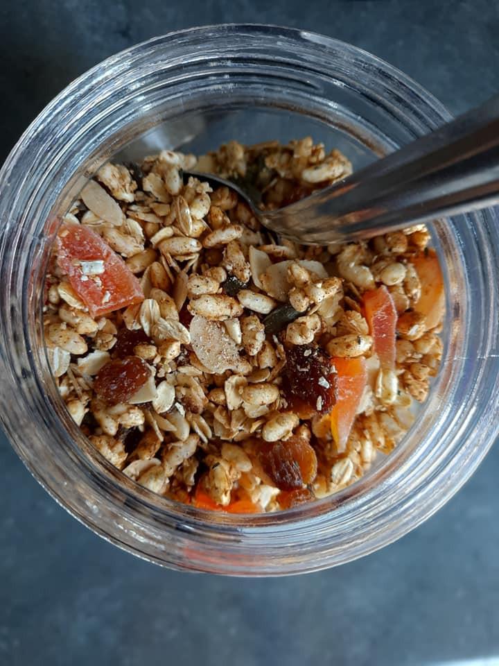 Fruits secs, céréales