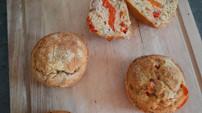 Petits cakes au thon et au poivron 💪