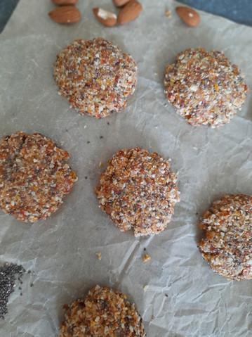 Cookies énergie crus 💪