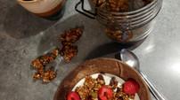 Granola au gingembre et à la mélasse 💪