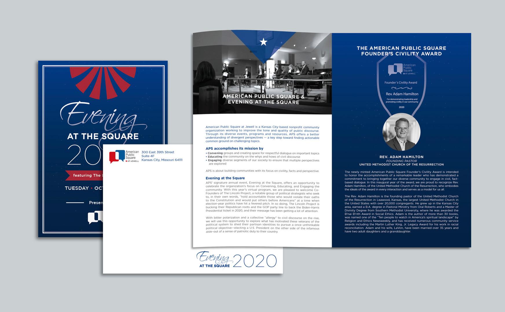 Event iinvitation & booklet