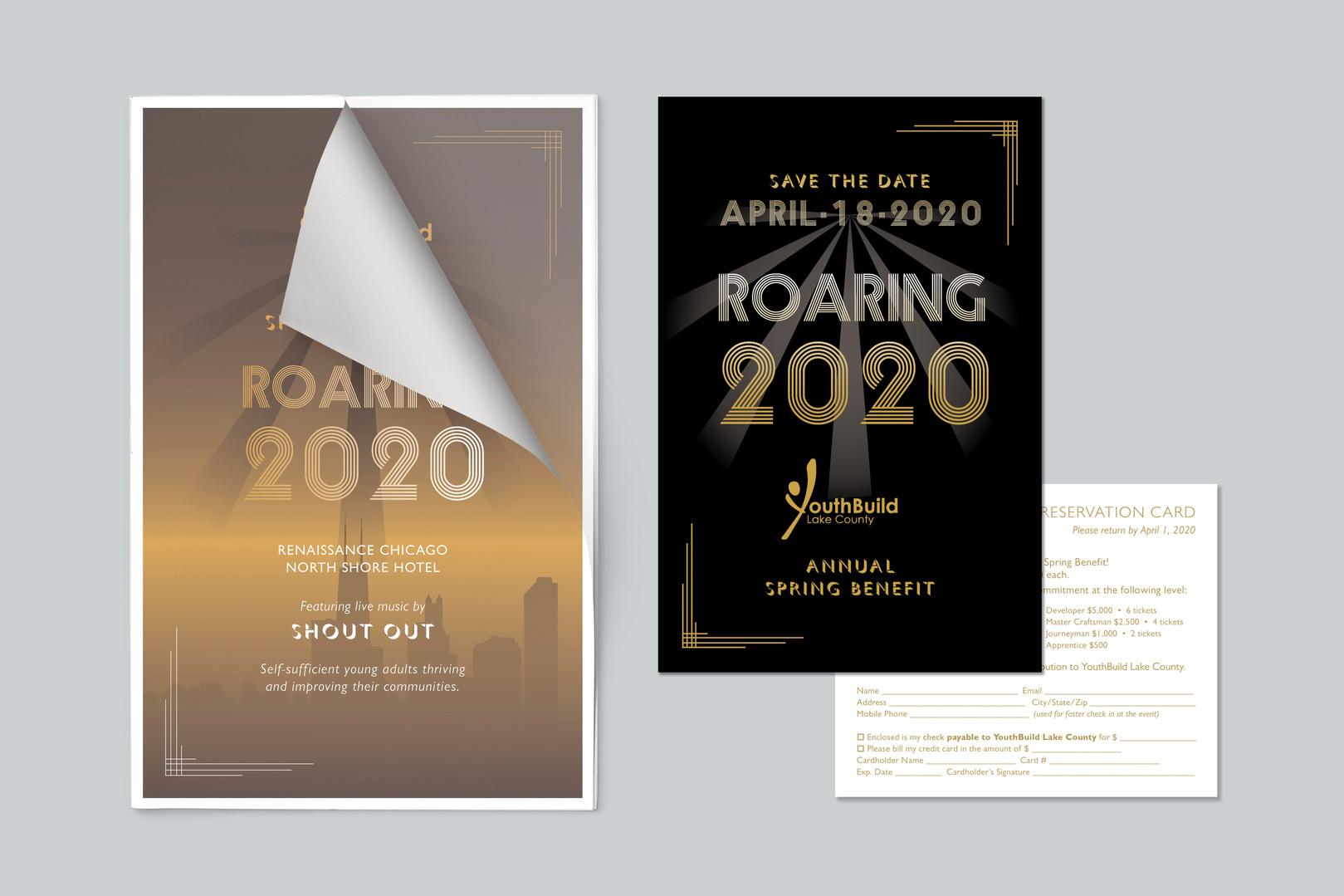 Event invitation & poster