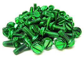 Green Plated Screws