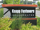Knapp Fasteners Sign Logo
