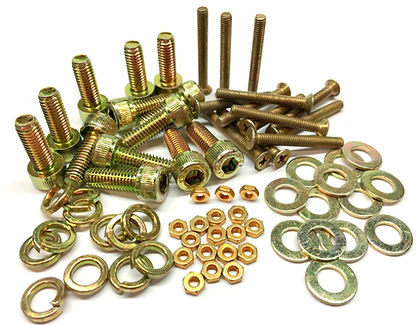 Zinc DIchromate Screws, Nuts and Bolts