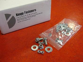 Example of Knapp Fasteners Kitting