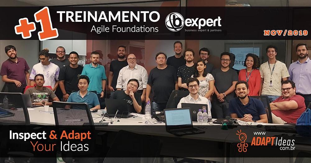 Marcio Vitale Agile Coach ministrou o treinamento Agile Foundations na BExpert e falou sobre Scrum, Kanban, Management 3.0 e sobre o Agile Mindset.