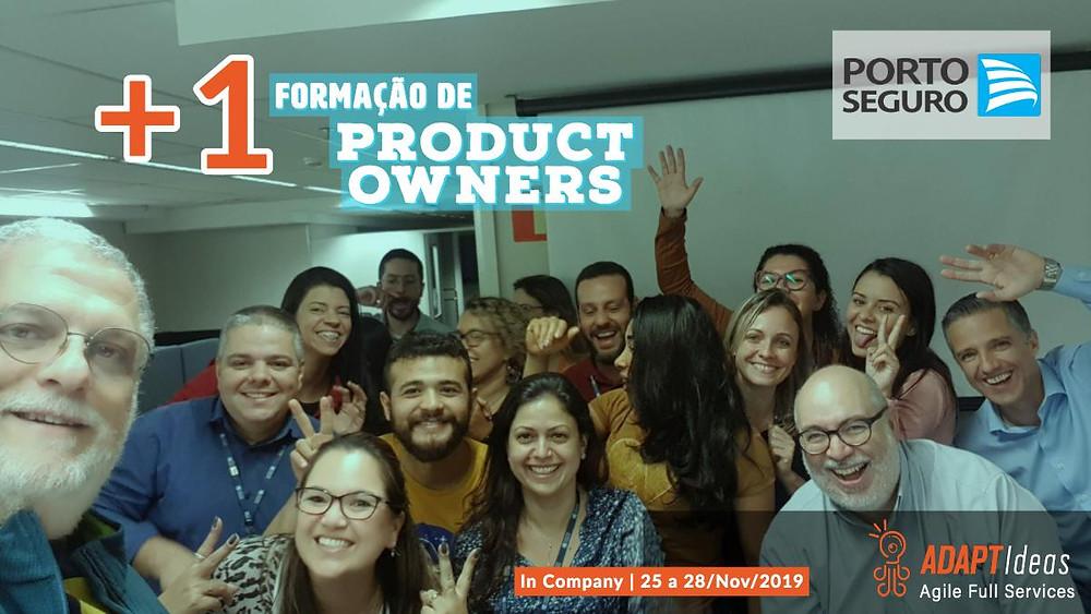 Marcio Vitale Agile Coach na ADAPTIdeas ministrou mais uma formação Product Owners na Porto Seguro em Novembro 2019