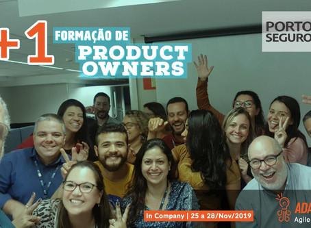 Formação Product Owners na Porto Seguro   São Paulo   Novembro 2019