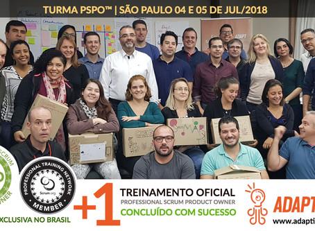 PSPO Scrum.org   04 e 05 de Julho 2018