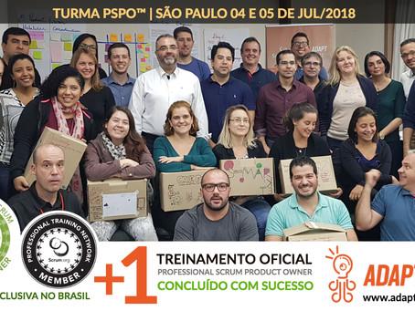 PSPO Scrum.org | 04 e 05 de Julho 2018