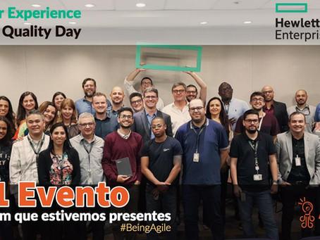 Fabiano Milani palestrou na Hewlett Packard Enterprise no Evento Customer Experience & Quality Day