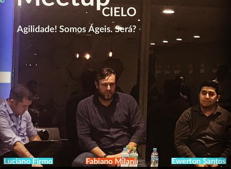 Fabiano Milani CEO da ADAPTIdeas no Meetup sobre Agilidade da CIELO | Dezembro 2019