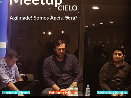 Fabiano Milani CEO da ADAPTIdeas no Meetup sobre Agilidade da CIELO   Dezembro 2019
