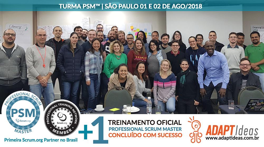 Professional Scrum Master em São Paulo | ADAPTIdeas e Scrum.org