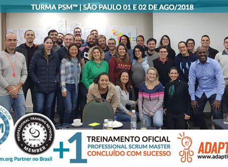 PSM Scrum.org | 01 e 02 de Agosto 2018
