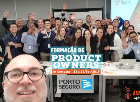 Formação de Product Owners in Company   Porto Seguro   Set/2019