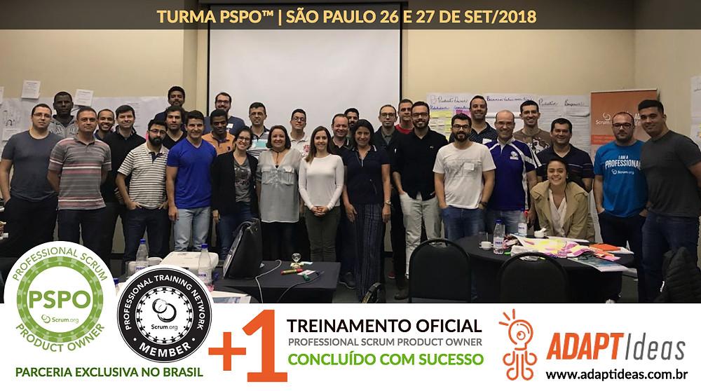 PSPO-SP Treinamento Oficial Scrum.org | Parceria Exclusiva da ADAPTIdeas