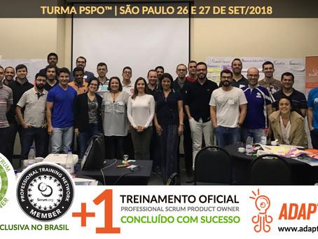 PSPO-SP | TURMA 26 E 27 DE SET/2018