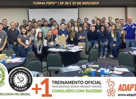 Galeria das Turmas PSM™ e PSPO™ 2019
