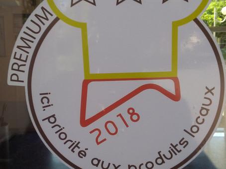 L'Oustal Labellisé en Premium sur les produits alimentaires de proximité
