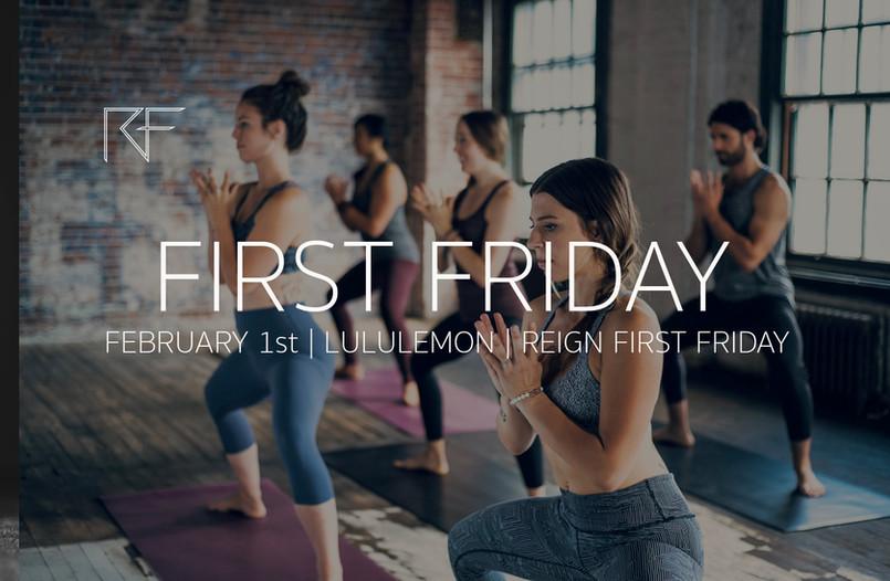 February First Friday | Lululemon