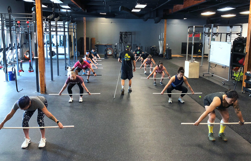 Reign Fitness Barbell Intermediate Workshop Level 2 Update