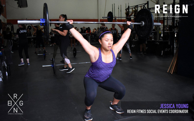 New Reign Fitness Social Events Coordinator | Jessica Young