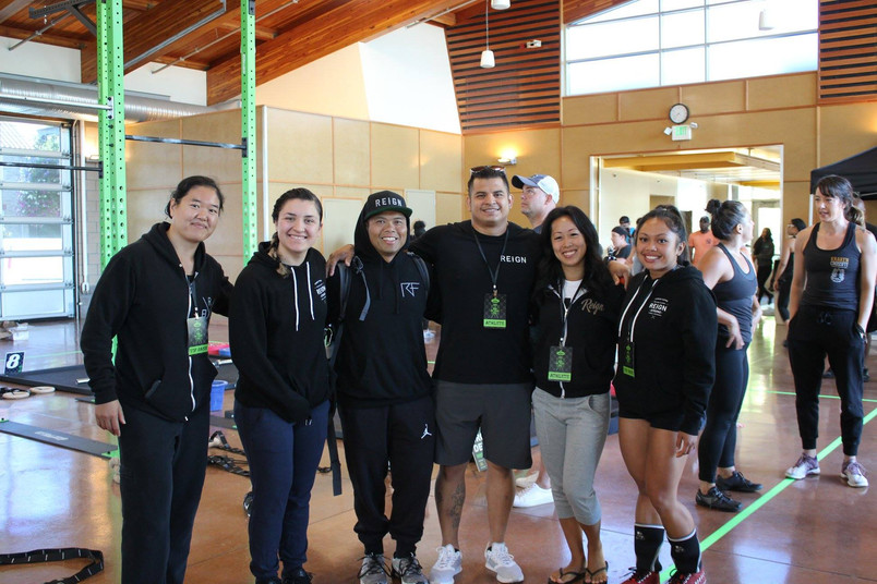 Reign Fitness Teams Compete at RCF Games 2018