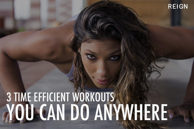 3 Time Efficient Body Weight Workouts You Can Do Anywhere