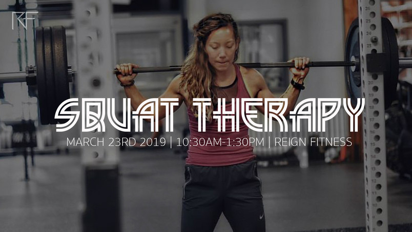 Squat Therapy Workshop