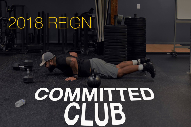 Reign Committed Club August 2018