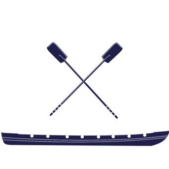 BOAT AND OARS