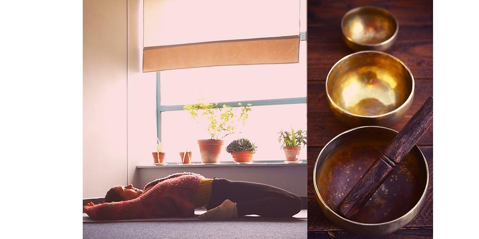 Candlelit Restorative & Yin Yoga with Tibetan & Crystal Singing Bowls