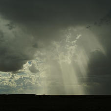 Thunderstorm in Namibia