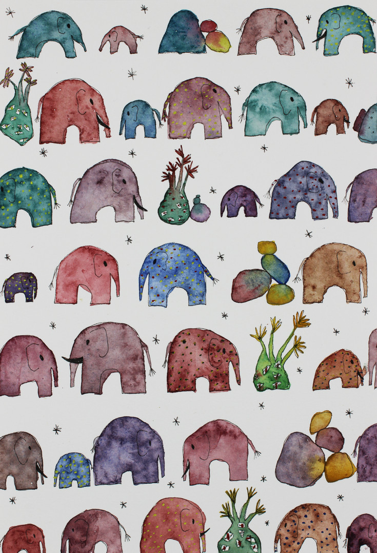 Invisible and imaginary elephants