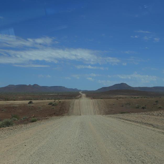 Unending gravel roads