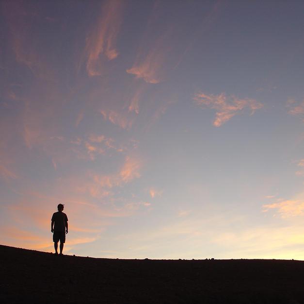Skeleton Coast sunset