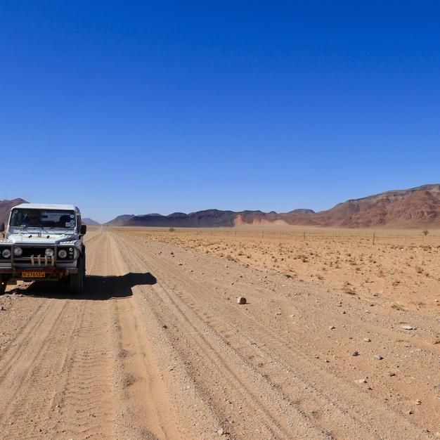 Henry through the desert